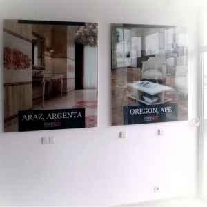 рекламные стеклянные вывески