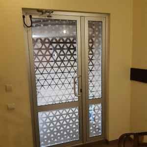 двери с фотопечатью на стекле
