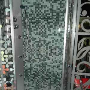 мозайка душевая кабинка