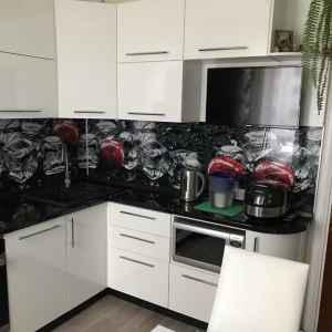 кухонний фартух скло