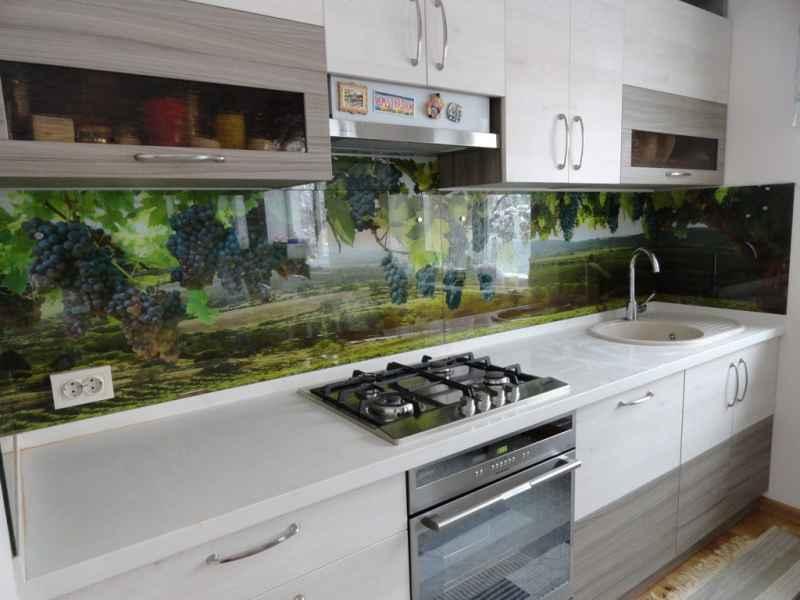 кухня рисунок на стекле
