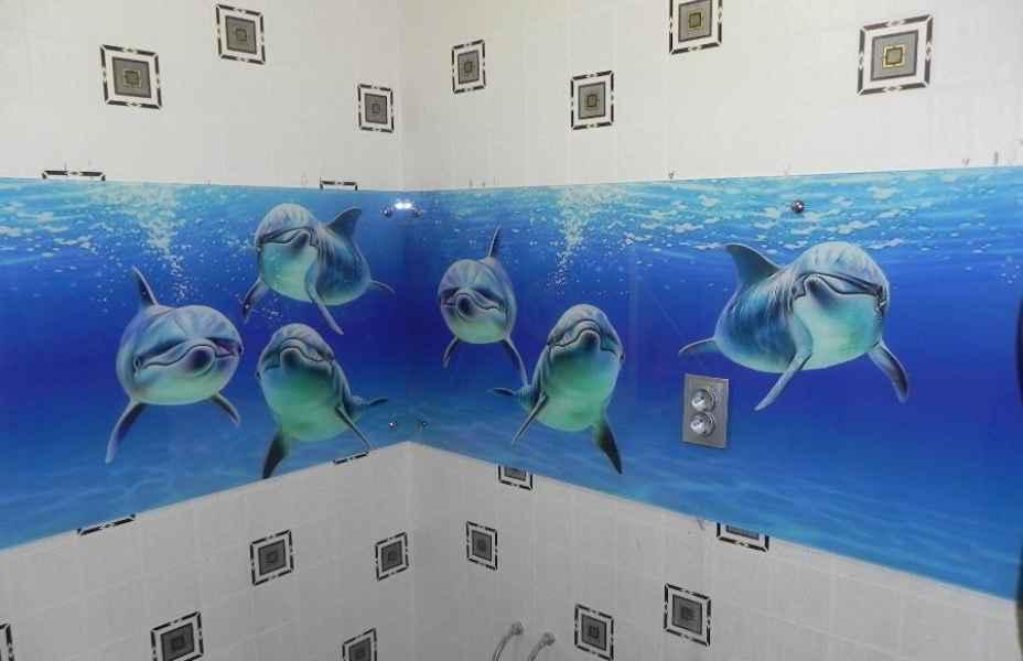 3D фотопечать на стекле