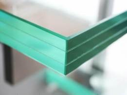 laminated glass triplex